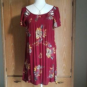 Tilly's Patrons of Peace Floral Dress*New* Size XS